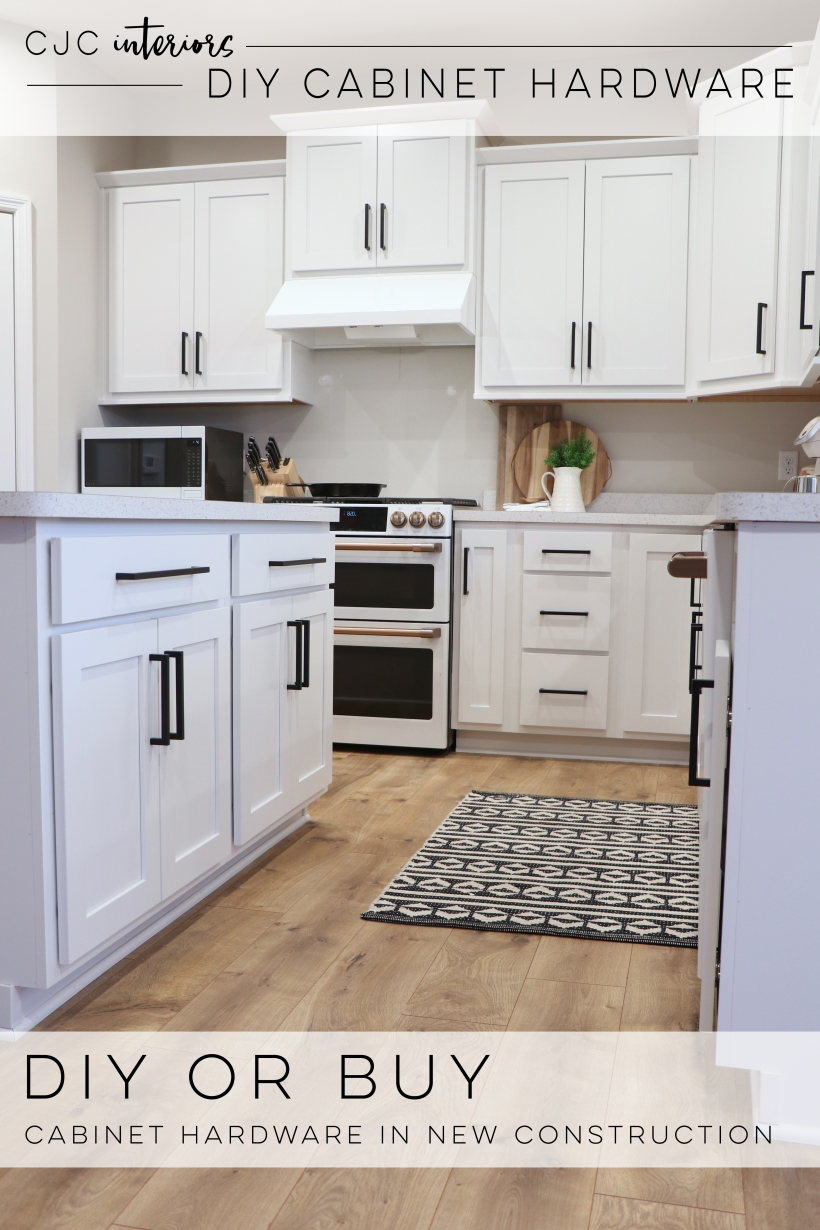 DIY or Buy Selecting Cabinet Hardware During the New Home Construction Process
